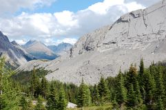 Mountains and forests Royalty Free Stock Images