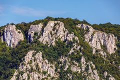 Mountains and forests Royalty Free Stock Photos