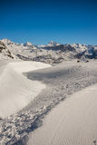 Mountains from formigal Royalty Free Stock Image