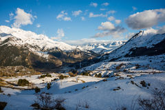 Mountains from formigal Royalty Free Stock Images