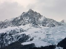 Mountains in France Royalty Free Stock Images