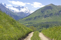 Mountains in french alps. Royalty Free Stock Images