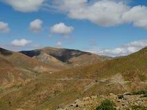 The mountains of Fuerteventura Royalty Free Stock Photos
