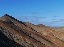 The mountains of Fuerteventura in morning light Stock Image
