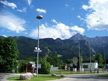 Mountains In Garmisch Patenkirchen Germany Stock Photos