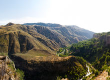 Mountains. In Garni, Armenia. It ws really hot day Stock Images