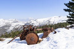 Mountains of Gennargentu Stock Image