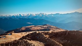 Mountains in Georgia. stock photo