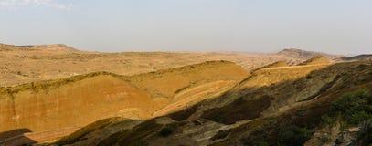 Mountains. In Georgia, on the border with Azerbaijan Stock Photos