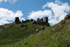 Mountains in Georgia Royalty Free Stock Photo