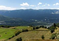 Mountains. In Georgia, the Mestia Region Stock Image