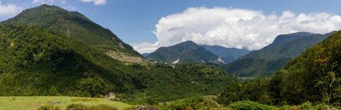 Mountains. In Georgia, the Mestia Region Royalty Free Stock Image