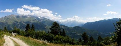 Mountains. In Georgia, the Mestia Region Royalty Free Stock Photos