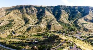 Mountains. In Georgia, near the Cave city Vardzia Stock Photo