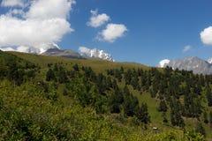 Mountains. In Georgia, near to Mestia. Swanetii Region Stock Images