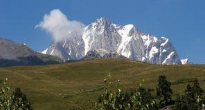 Mountains. In Georgia, near to Mestia. Swanetii Region Royalty Free Stock Images
