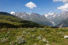 Mountains. In Georgia, near to Mestia. Swanetii Region Stock Image