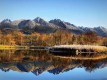 Mountains Glacial Lake Royalty Free Stock Images