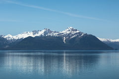The Mountains of Glacier Bay Royalty Free Stock Images