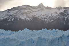 Mountains and glacier Royalty Free Stock Photo
