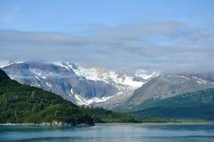 Mountains and Glacier, Glacier Bay, Alaska Royalty Free Stock Photo
