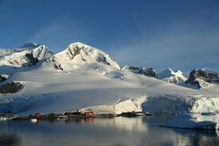 Mountains & glaciers Stock Photography