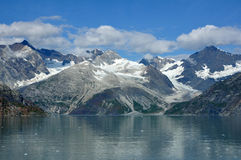 Mountains and Glaciers, Glacier Bay Royalty Free Stock Photo
