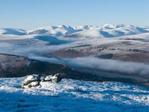 Mountains and glens Royalty Free Stock Photos