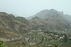 Mountains in Gran Canaria. Island Stock Images