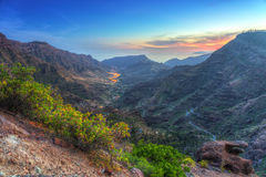 Mountains of Gran Canaria island Stock Image