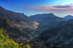 Mountains of Gran Canaria island Royalty Free Stock Photo