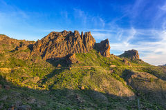 Mountains of Gran Canaria island Royalty Free Stock Photography