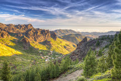 Mountains of Gran Canaria island Stock Photos