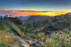 Mountains of Gran Canaria island Stock Photography