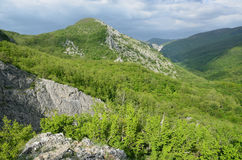 The mountains of the Grand canyon of the Crimea, Russia Royalty Free Stock Photos