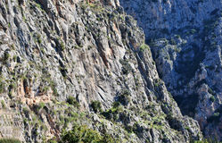 Mountains in Greece Royalty Free Stock Photography
