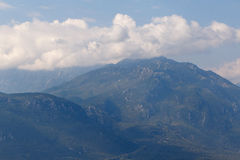 Mountains in Greece Royalty Free Stock Images