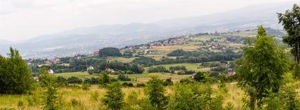 Mountains. Green Mountains in Poland Stock Photos