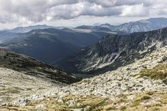 Mountains. Green Mountains in Romania Stock Photography