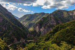 Mountains. Green Mountains in Romania Royalty Free Stock Image