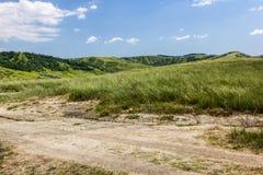 Mountains. Green Mountains in Romania Royalty Free Stock Photo