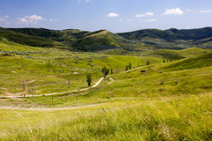 Mountains. Green Mountains in Romania Royalty Free Stock Images