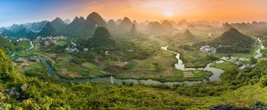 Mountains in Guilin - China Stock Image