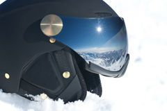Mountains in helmet Stock Images