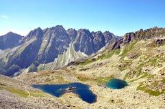 Mountains - High Tatras. Mountains - Lake in the High Tatras,Slovakia Stock Image