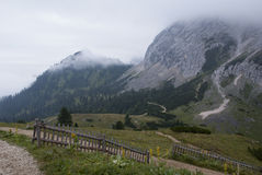 Mountains. Hiking through the Bavarian Alps of Southern Germany Stock Images