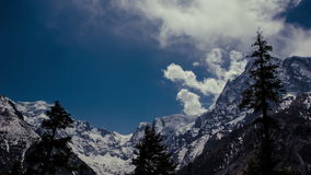 Mountains in Himalaya stock video footage