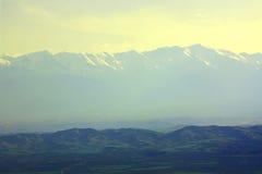 Mountains on horizon Royalty Free Stock Image