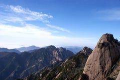 Mountains huang shan Royalty Free Stock Photo