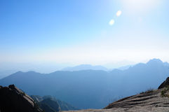 Mountains of Huangshan China Royalty Free Stock Image